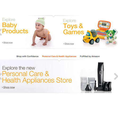Amazon India Adds Toys Baby Products Personal And Health Care