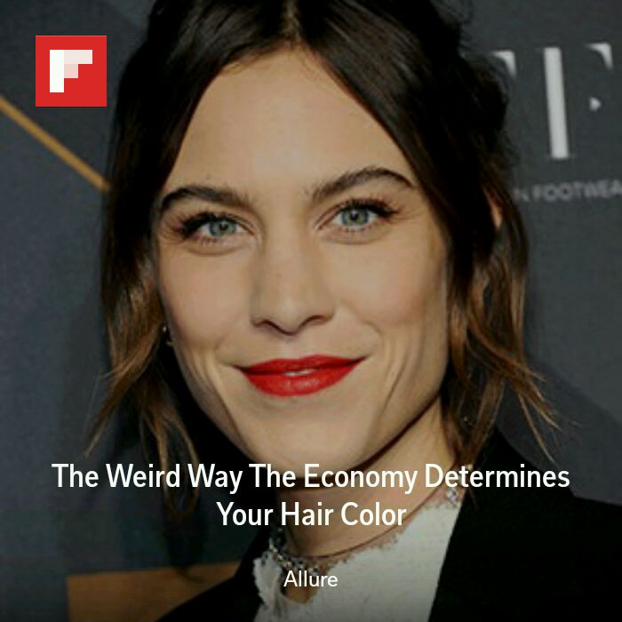 Article The Weird Way The Economy Determines Your Hair Color