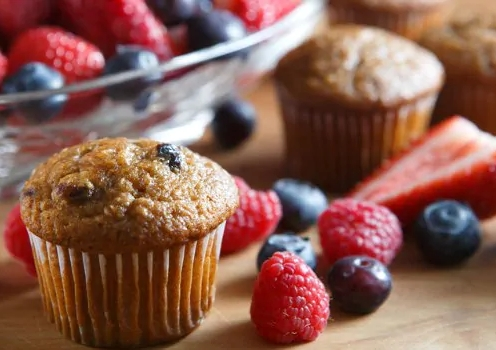 Bran Whole Wheat Muffins