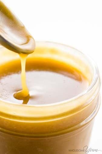Sugar-free Caramel Sauce